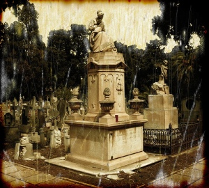 bonaria's cemetery