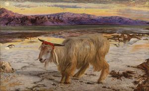 350px-William_Holman_Hunt_-_The_Scapegoat