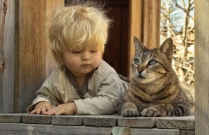 gatto-e-bambino