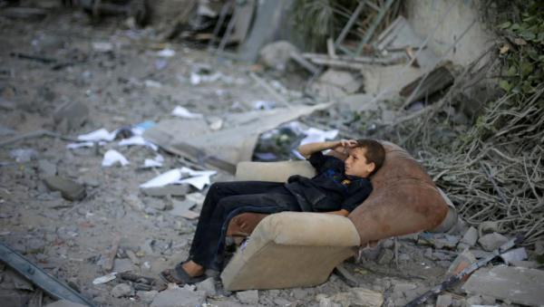 Suhaib Salem - Foto Reuters - Gaza 2014